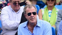 Former Top Gear host Jeremy Clarkson at Queen's Club, London.