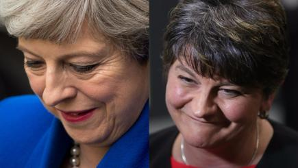 UK election result: Theresa May to form government with DUP backing