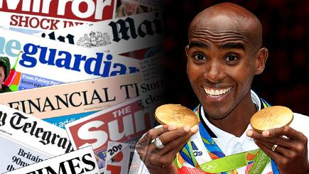 Mo Farah lands double-double, winning gold in 5000m