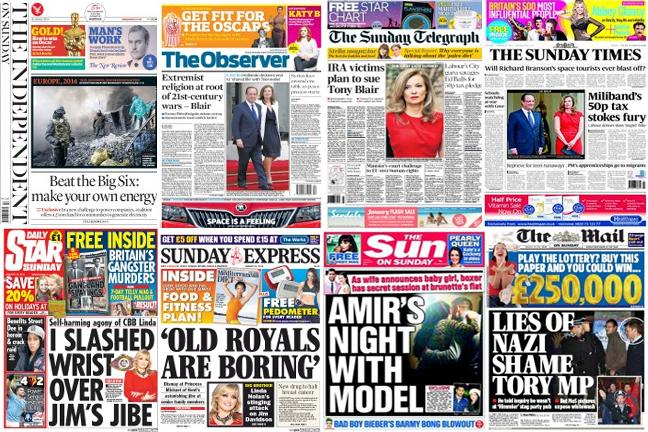 What The Papers Say January 26 Bt