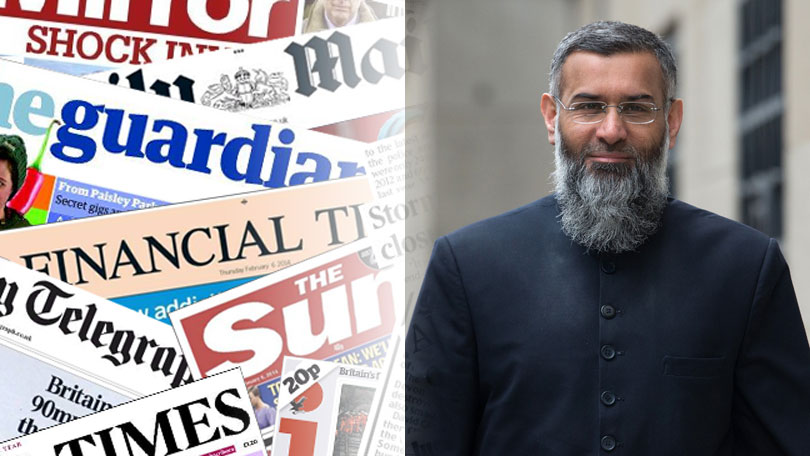 Radical preacher Anjem Choudary released from prison
