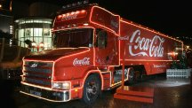 When is the Coca-Cola Christmas truck coming to your town?