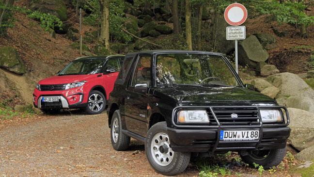 Suzuki Vitara: the original lifestyle SUV meets the new