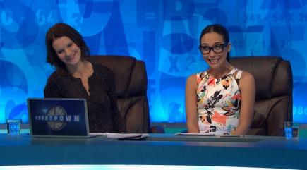 Which word did Myleene Klass embarrass Countdown with?