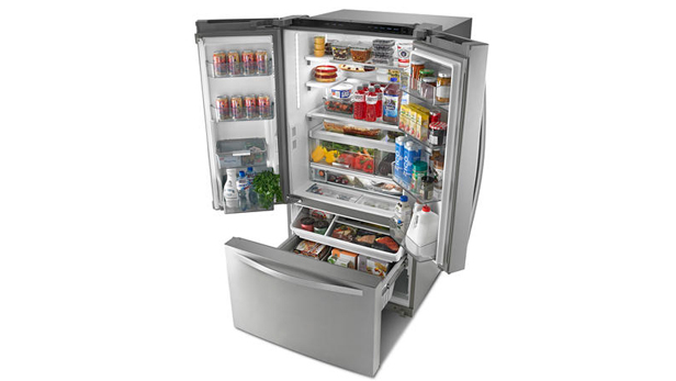 Whirlpool Smart French Door Refrigerator
