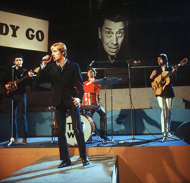 The Who appear on Ready Steady Go!