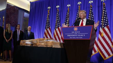 Trump concedes Russian Federation likely hacked DNC, attacks USA intelligence agencies over leaks