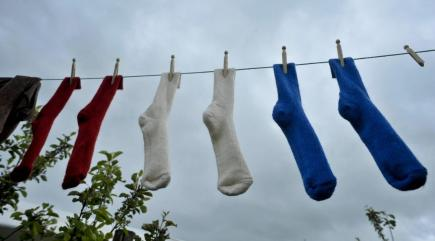 Why do socks go missing in the wash? Science may have the answer...