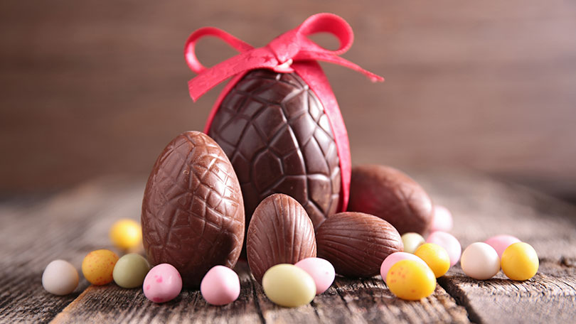 Why do we eat chocolate eggs at easter bt easter is observed as a religious holiday around the world and is the christian churchs most important festival marking the crucifixion and subsequent negle Image collections