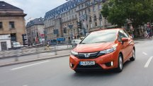 The 2015-16 Honda Jazz