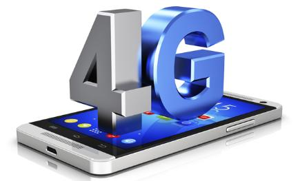 4G means faster downloads and uploads when out and about