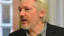 WikiLeaks founder Julian Assange hit out at the data order