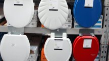 A US firm has introduced a deodorising toilet seat