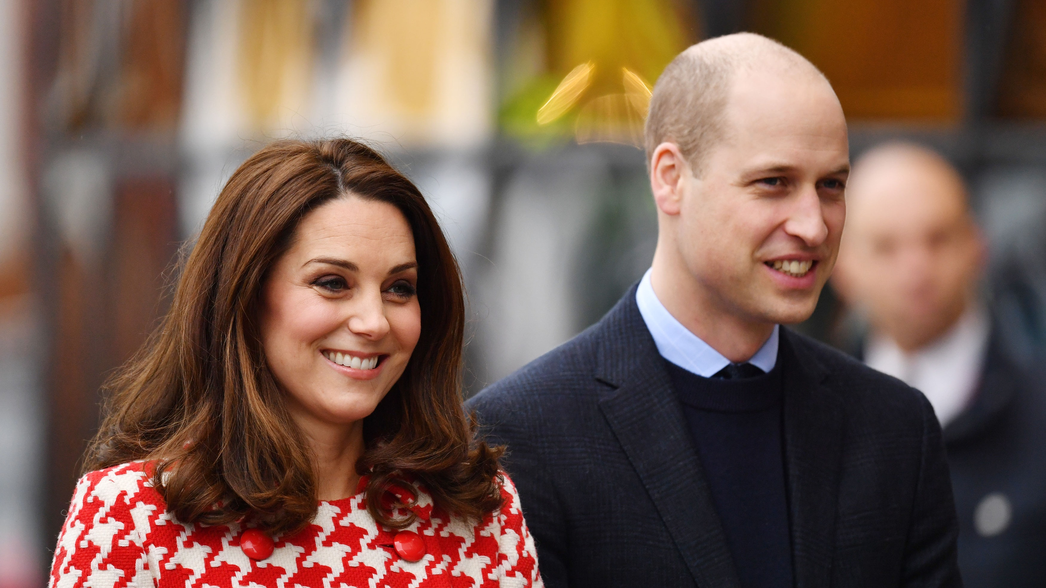 Pregnant Kate Middleton Challenges Prince William to a Hockey Shootout