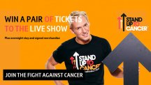 Win tickets to the Stand Up To Cancer live show