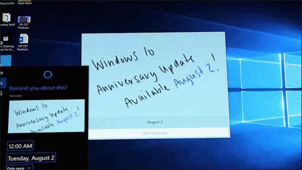 Windows 10 Anniversary Update: Windows Ink