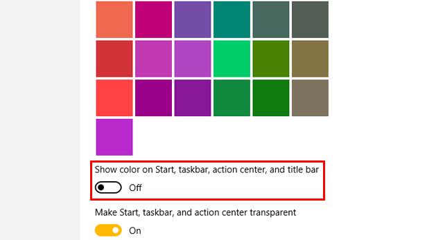 Customise the Windows 10 Taskbar
