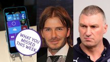 Windows 10, David Beckham and Nigel Pearson
