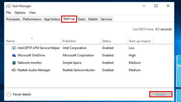 Make Windows 10 perform faster