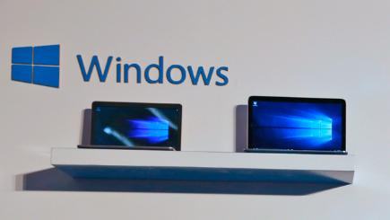 Laptops running Windows 10