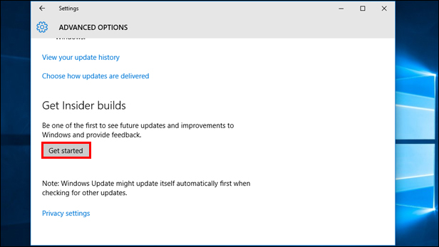 How to get early previews of Windows 10 updates