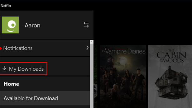 Netflix on Windows 10