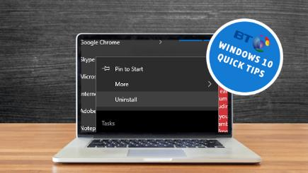 Windows 10 tips: Easy way to uninstall apps