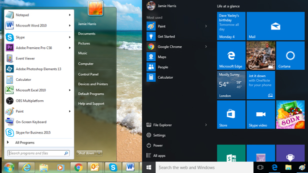 How does Windows 7 compare with Windows 10? | BT