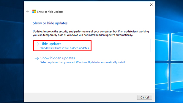 Fix Windows Update failures