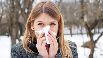 What cause winter allergies