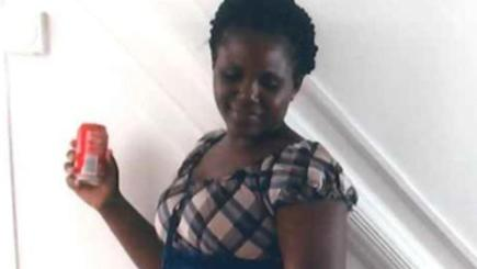 Lillian Oluk, 36, was found dead in a flat along with her young child