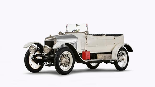 Perfect Worldu0027s First Sports Car Dating From 1914 Up For Auction