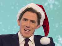 Rob Brydon in the Would I Lie To You Christmas special