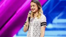 Lauren Platt showed the X Factor judges she is a little girl with a big voice