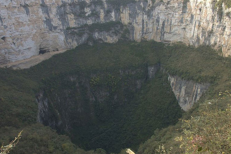 Sinkholes Of The World In Pictures