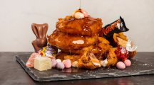 You can actually eat deep-fried Easter treats at a pop-up restaurant in London