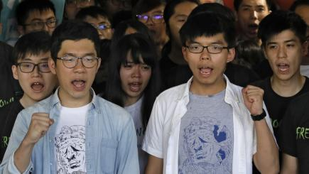 Human rights groups rip jail terms for Hong Kong activists