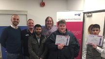 Young people with autism experience working at BT