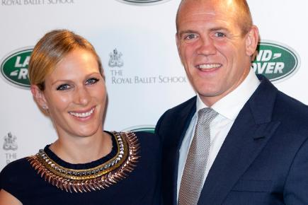 Zara Phillips and Mike Tindall - first time parents