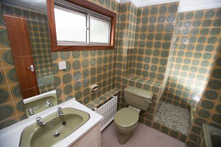 Incredible time machine house will take you straight for 1970 bathroom decor