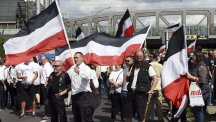 39 people detained over neo-Nazi march in Berlin