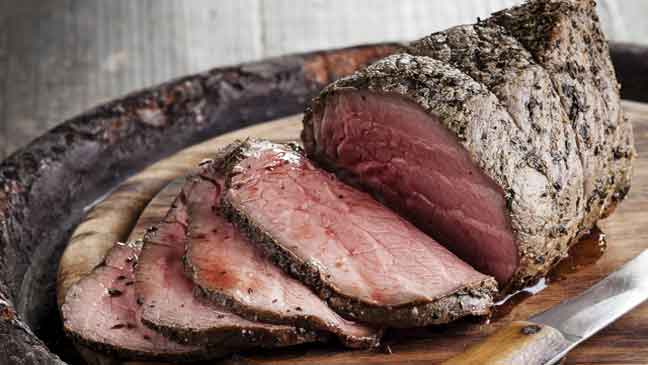 is roast beef good for a diet