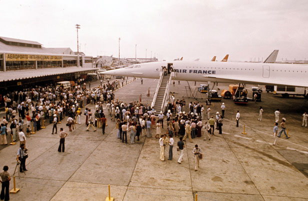 Image result for concorde begins service in 1976