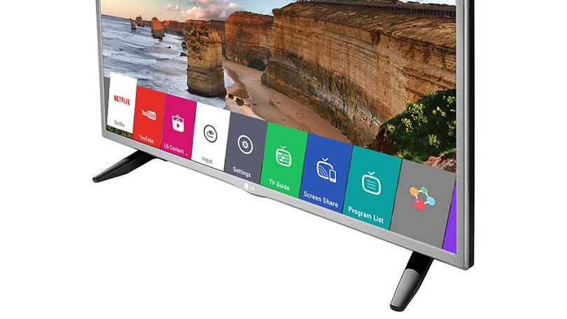 LG TV's webOS