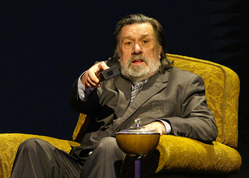 Ricky Tomlinson onstage in 2017. Photo credit: Brian Ritchie/2nd Act/REX/Shutterstock