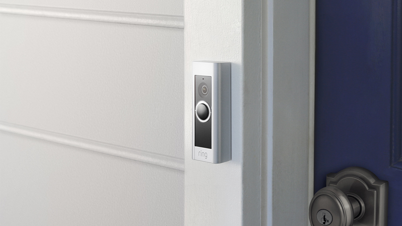 Ring Video Doorbell Camera: Answer the door without getting