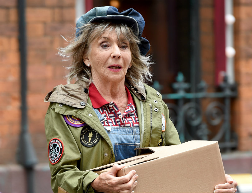 Sue Johnston as Ivy-Rae in the BBC series Age Before Beauty. Photo credit: MCPIX/REX/Shutterstock