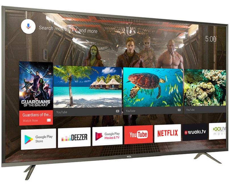 TCL Roku TV home screen