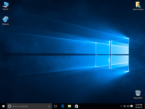 Welcome to Windows 10