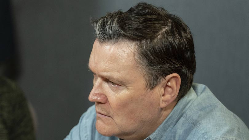 Ian Puleston-Davies in A Confession as Mick O'Callaghan